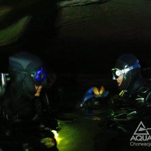 Goluber-Höhle - Tauchen in Kroatien