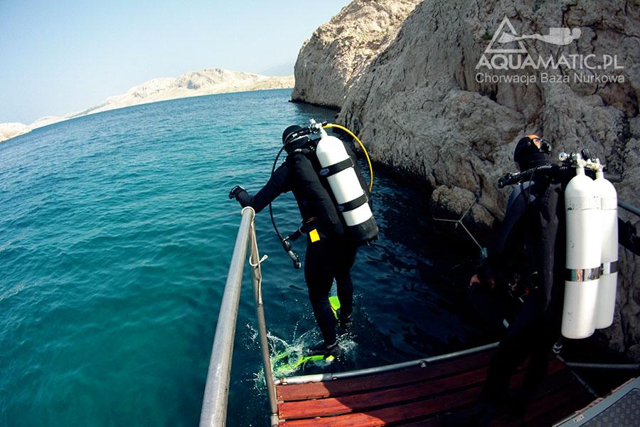 Chorwacja nurkowanie z łodzi Mascalic